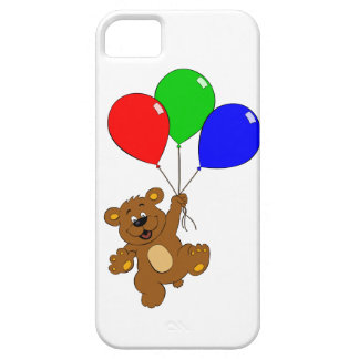 Bear with balloons kids iphone case