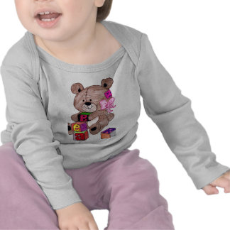 bear with blocks t shirts