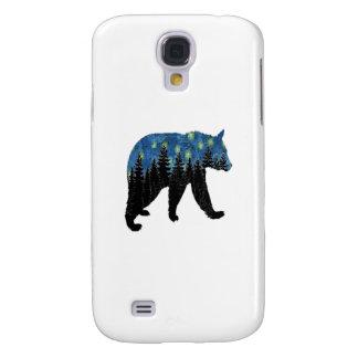 bear with fireflies