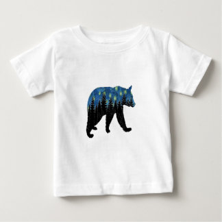 bear with fireflies baby T-Shirt