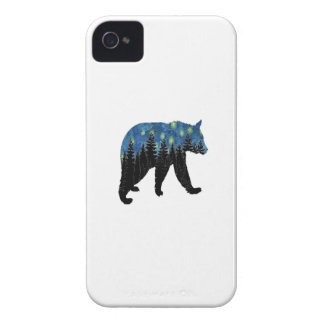 bear with fireflies iPhone 4 case