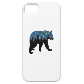 bear with fireflies iPhone 5 case
