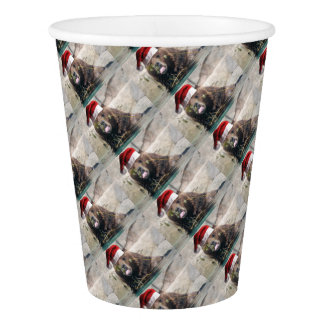 Bear-With-Hat Paper Cup