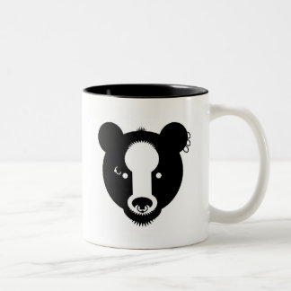 bear with me 1 Two-Tone coffee mug
