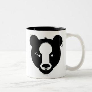 Bear with me Two-Tone coffee mug