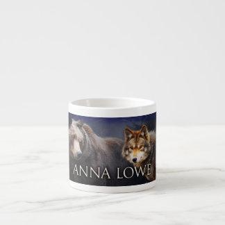 Bear / wolf espresso mug