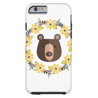 Bear&Wreath Tough iPhone 6 Case