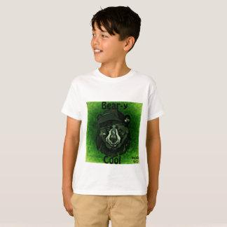 Bear-y Kool Unisex Children Print T-Shirt