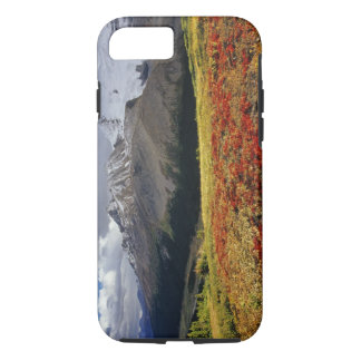 Bearberry in early autumn Athabasca Peak in the iPhone 7 Case