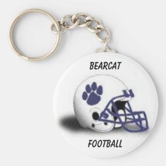 Bearcat Football Keychain