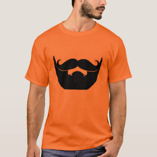 Beard and Mustache T-Shirt