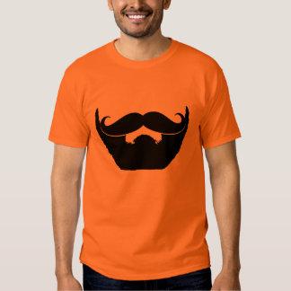 Beard and Mustache T-shirts