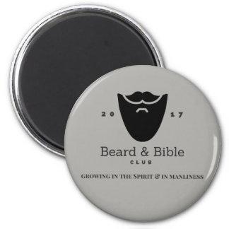 Beard & Bible Club Magnet