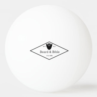 Beard & Bible Club Ping Pong Ball