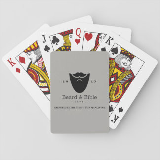 Beard & Bible Club Playing Cards