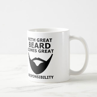 beard coffee mug