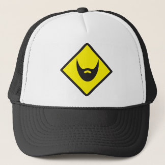 BEARD crossing Trucker Hat