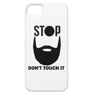 beard design iPhone 5 cover