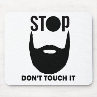 beard design mouse pad