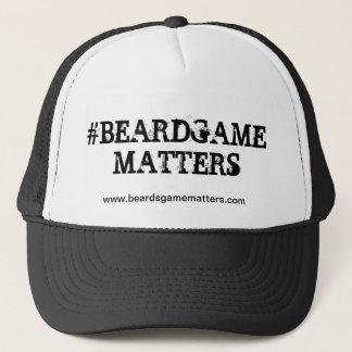 Beard Game Matters (Trucker Hat Edition)
