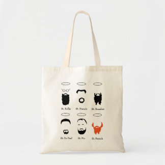 Beard Guide to the saints reusable tote bag