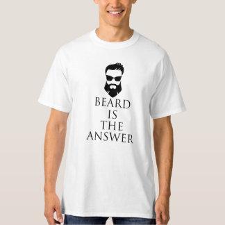 Beard Is The Answer ! T-Shirt