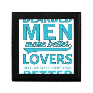 beard men makes better lovers gift box
