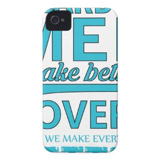 beard men makes better lovers iPhone 4 Case-Mate case