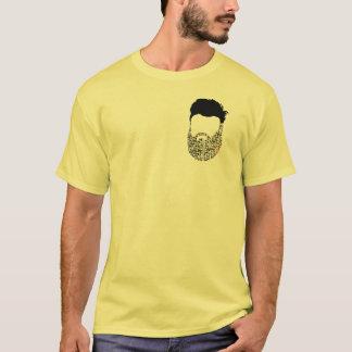 beard red heart T-Shirt