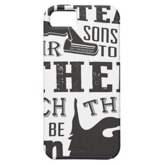 Beard, some father teach to shave others to be a m iPhone 5 cases