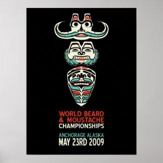 Beard Totem Poster