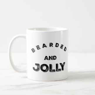 Bearded and Jolly Christmas Mug