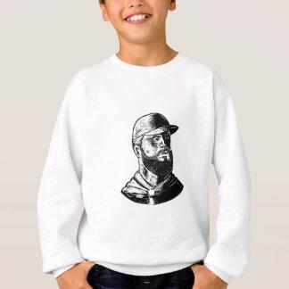 Bearded Chef Scratchboard Sweatshirt