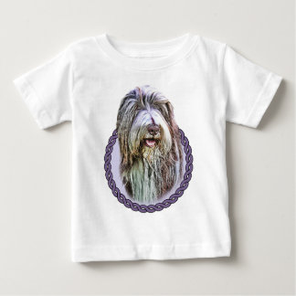 Bearded Collie 001 Baby T-Shirt