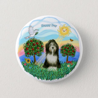 Bearded Collie #8 2 Inch Round Button