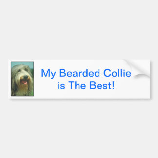 Bearded Collie Bumper Sticker