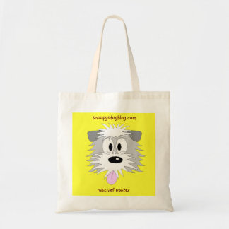 BEARDED COLLIE CARTOON TOTE BAG