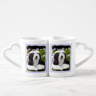 Bearded Collie Coffee Mug Set