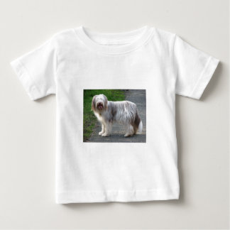 Bearded Collie Dog Baby T-Shirt