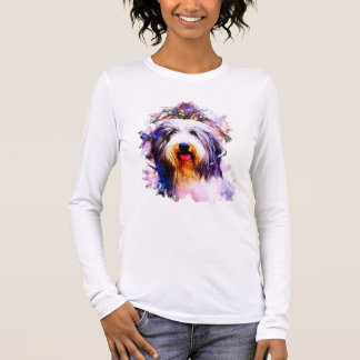 Bearded Collie Long Sleeve T-Shirt