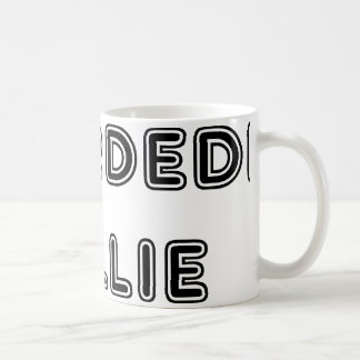 bearded collie name coffee mug