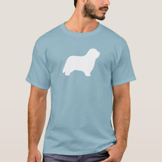 Bearded Collie Silhouette T-Shirt