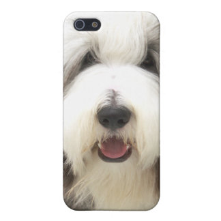 bearded collie Snoopy iPhone 5 Case