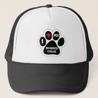 Bearded Collie Trucker Hat