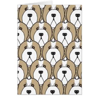 Bearded Collies Card