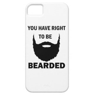 bearded cubby iPhone 5 cover
