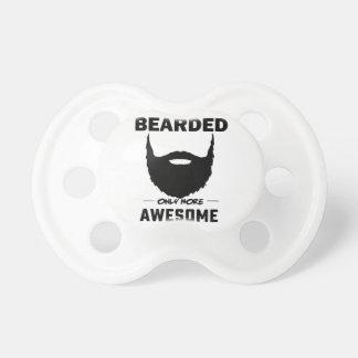 bearded cubby pacifier