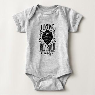 Bearded Daddy Onsie Baby Bodysuit