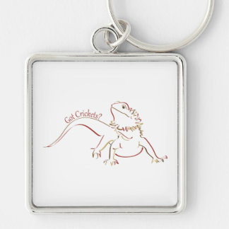 Bearded Dragon2 Keychain