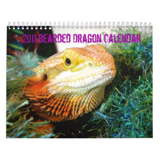 Bearded Dragon Calendar